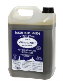 Marius Fabre fait aussi du savon noire à l'huile d'olive (et non de lin) ! !